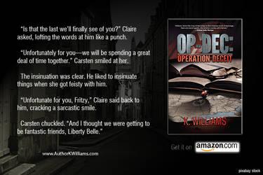 OP-DEC: Operation Deceit Promo 2 by KWilliamsPhoto