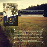Advertising Blue Honor Quote - Social Media Post 2