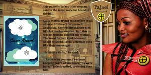 Tajael Character Card - TTB2