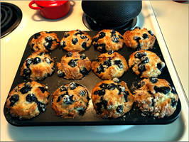 Culinary K - Blueberry Muffins