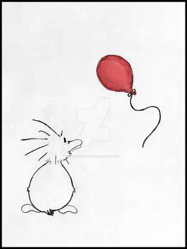 Zo's Red Ballon Colored