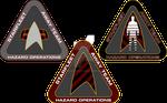 Starfleet Hazard Team Logos 1