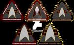 Starfleet Hazard Team Logos 2