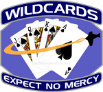 Space A and B Wildcards Blue