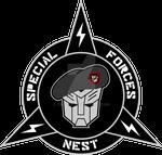 Transformers NEST Special Forces Custom Logo