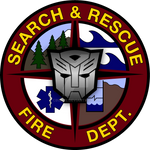 Ratchet Search and Rescue Logo