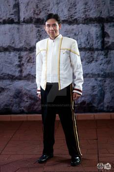 Starfleet Captain's Dress Whites 1