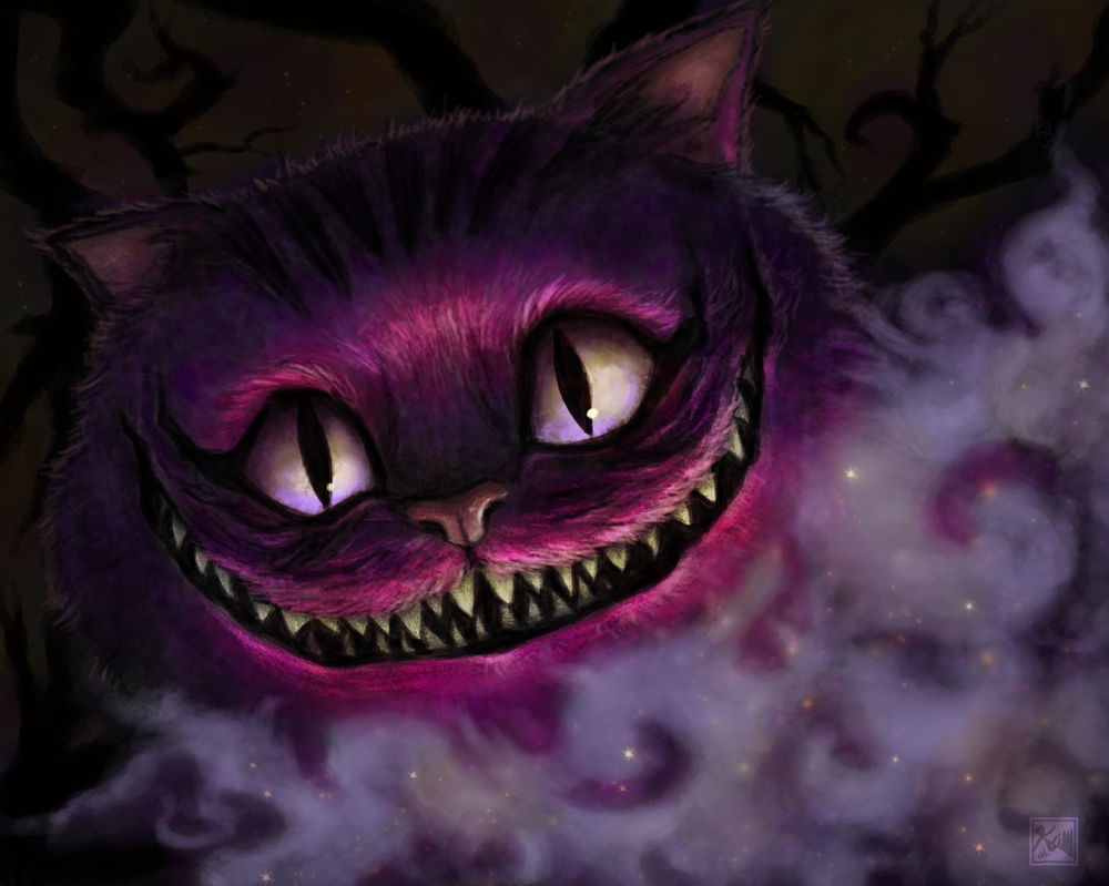 Commission - Cheshire Cat by chromageist