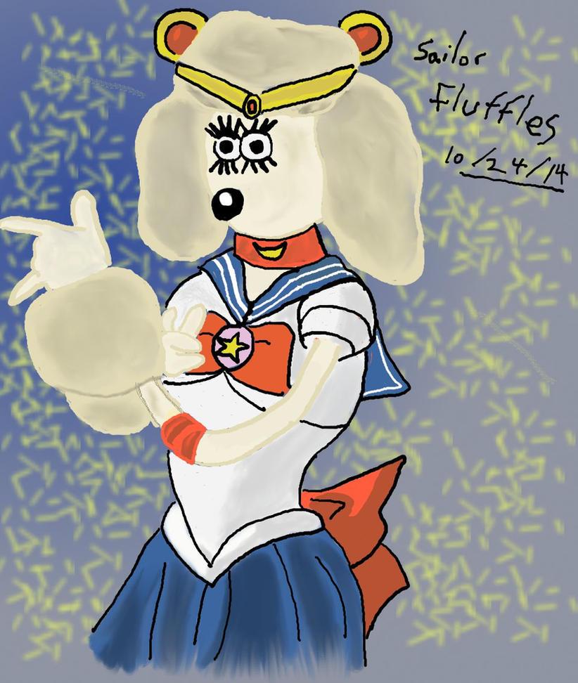 Sailor Fluffles by KeroroKuchiki