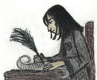 Snape Study by Vix-of-TARDIS