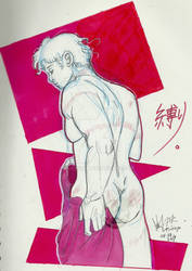 2019 - Doodle#12 - Some random guy and random butt