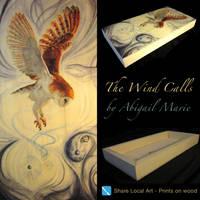The Wind Calls, Wood Print