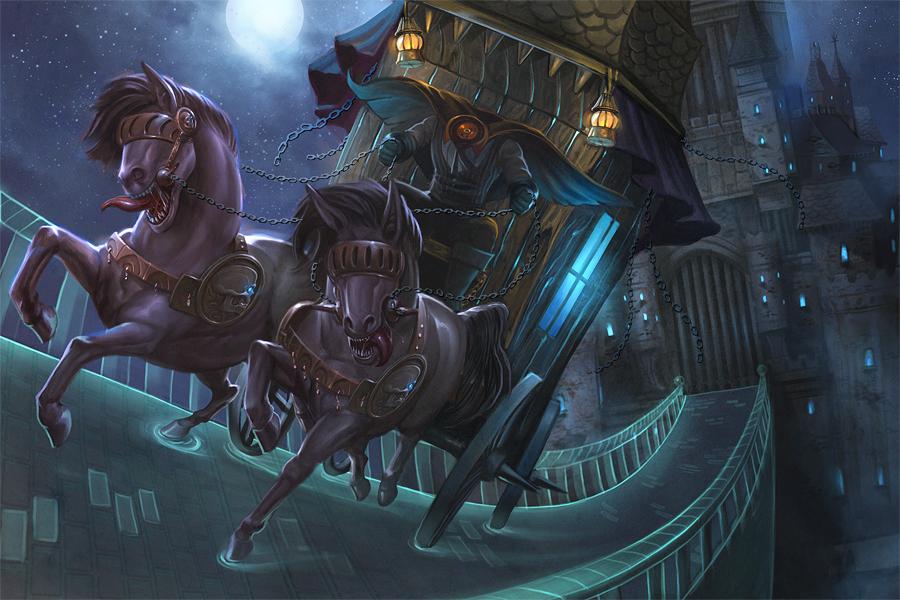 Headless Horseman Half-Page by *nanya