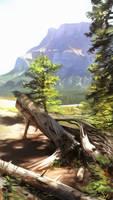 Banff Landscape Painting 1