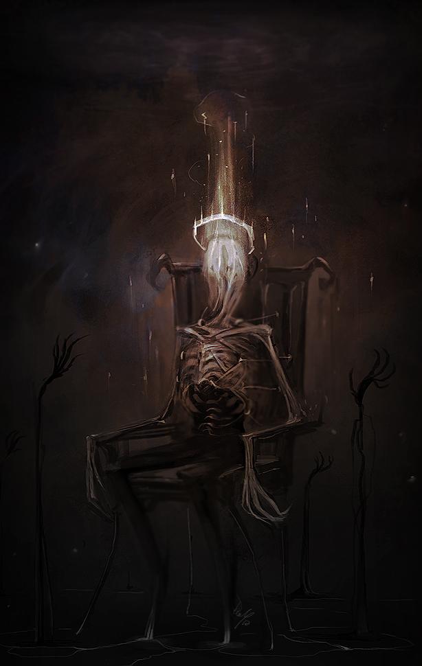 Portrait of a Demon by damie-m