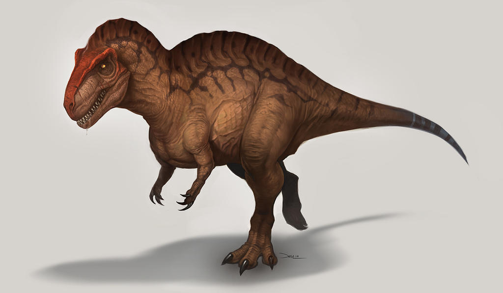 Acrocanthosaurus Atokensis by damie-m