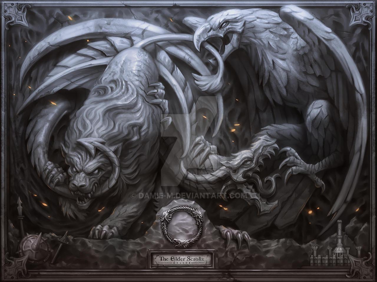 Elder Scrolls Online Poster by damie-m