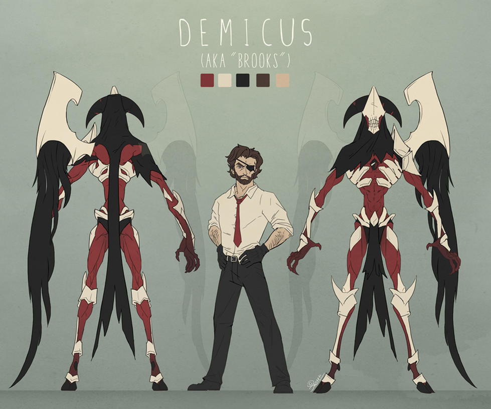 Demicus Character Sheet by damie-m