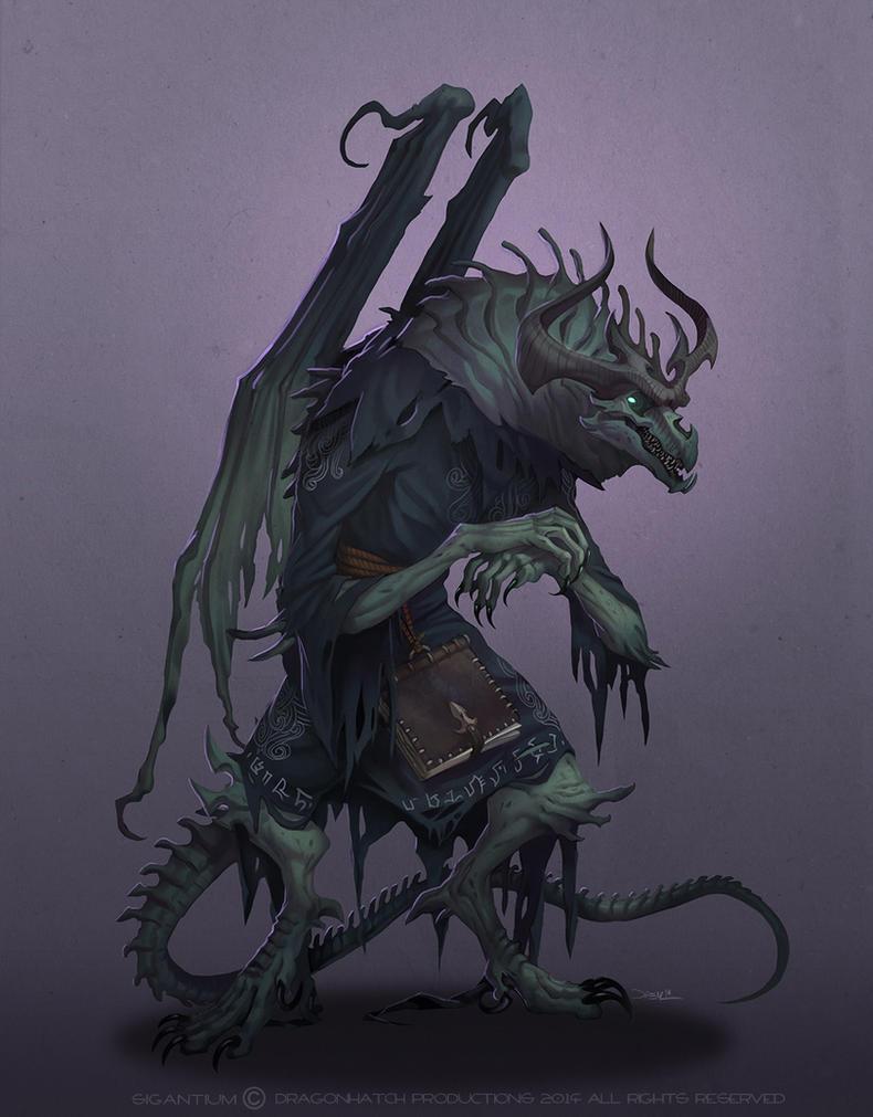 Daznath The Necromancer by damie-m