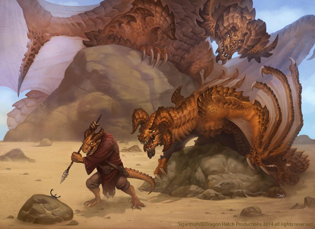 Maedraeus Wryverns (Sigantium) by damie-m