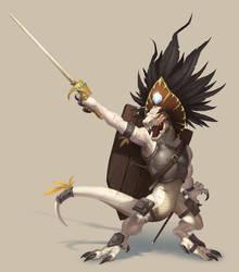 Kobold Chieftain - Pathfinder