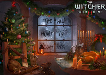 Witcher 3 Holiday Card