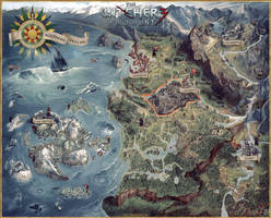 Witcher 3 Collectors Edition Map (FULL)