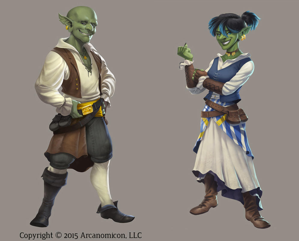 Tales of Arcana - Goblins by damie-m