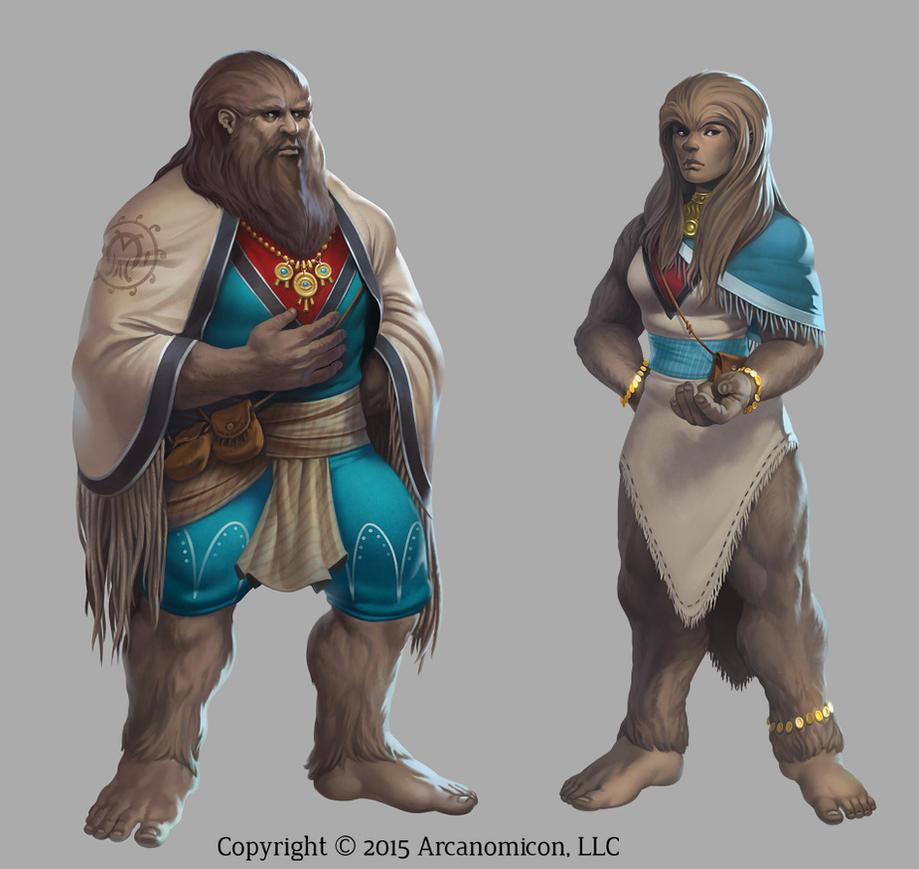 Tales of Arcana - Sasquatch by damie-m