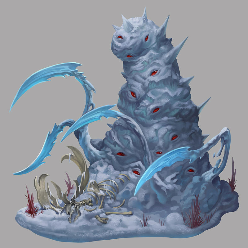 Pathfinder - Tundra Blight by damie-m