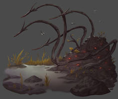 Pathfinder - Swamp Blight by damie-m