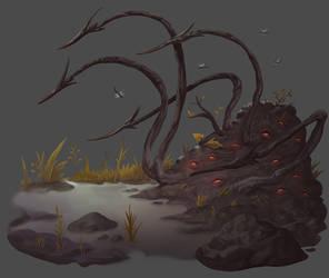 Pathfinder - Swamp Blight