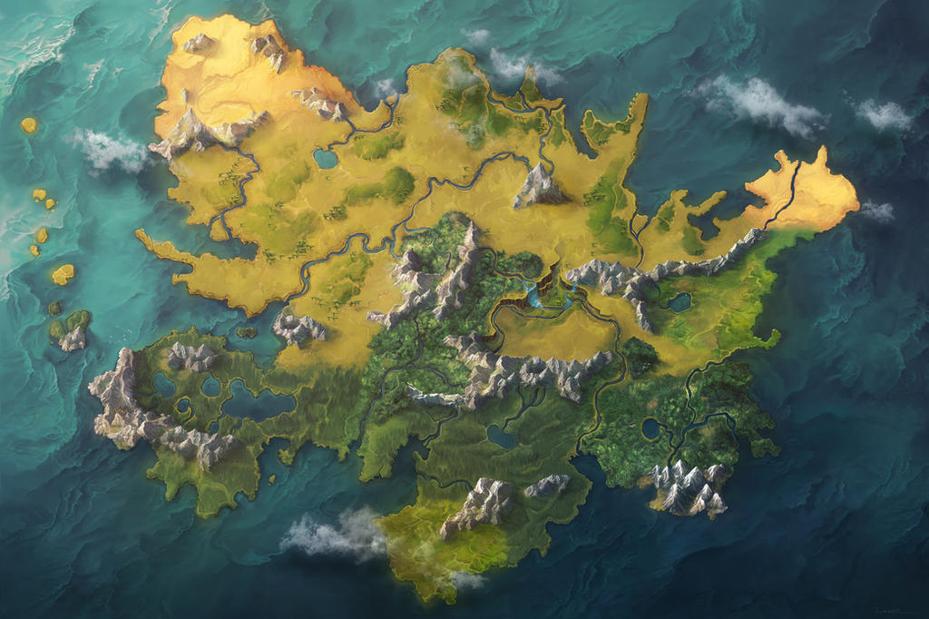 Dunia Map Commission (No Locations) by damie-m