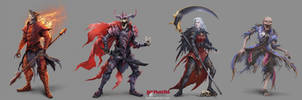 Undead Pack - Grave Knight by damie-m