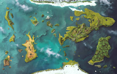 Eotera World Map by damie-m