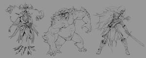 Monster Sketches