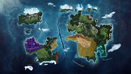 Chroma World Map