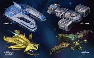 Starfinder Starships - Fly Free or Die