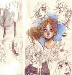 Sketches by ChocolatChibi