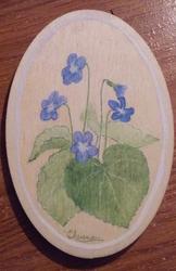 blue violet by Elaienar