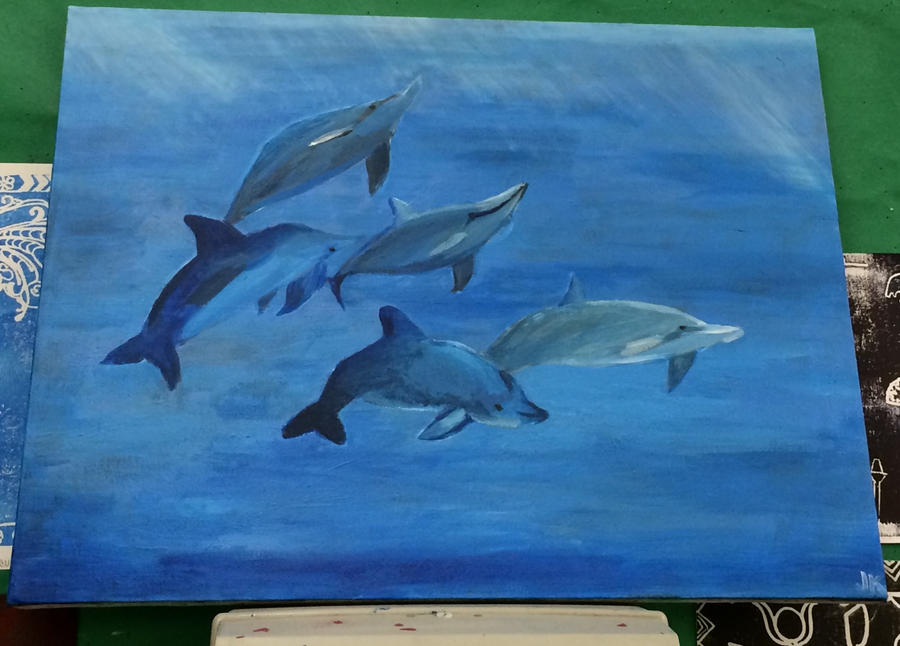 Dolphins by elarnis