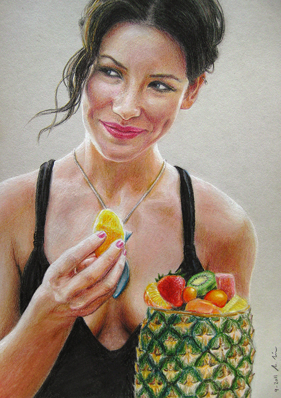 Evangeline Lilly as 'Kate' in LOST 1 by LMan-Artwork