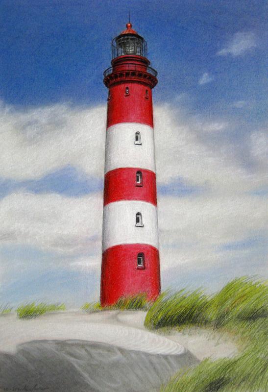 Seascape Lighthouse Beach Paintings