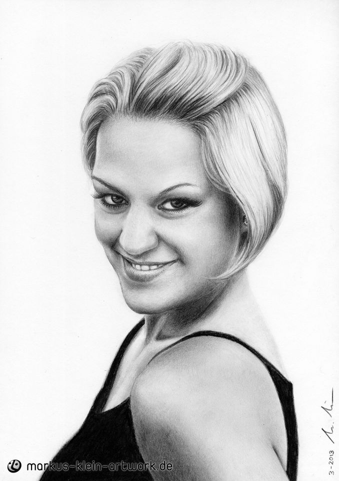 Natascha's Smile (drawing) by LMan-Artwork