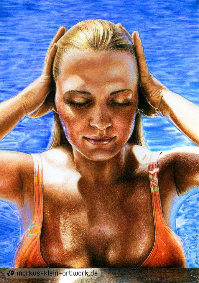 Pool Beauty feat. Natascha Klein (Colored Pencil)