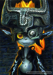 Midna (Colored Pencil Drawing)