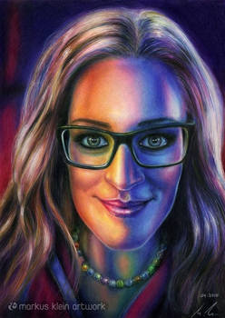 Natascha's Play Of Colours (Colored pencil)
