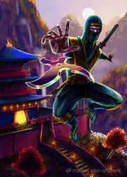 RETURN 42 Cover Artwork: Ninja