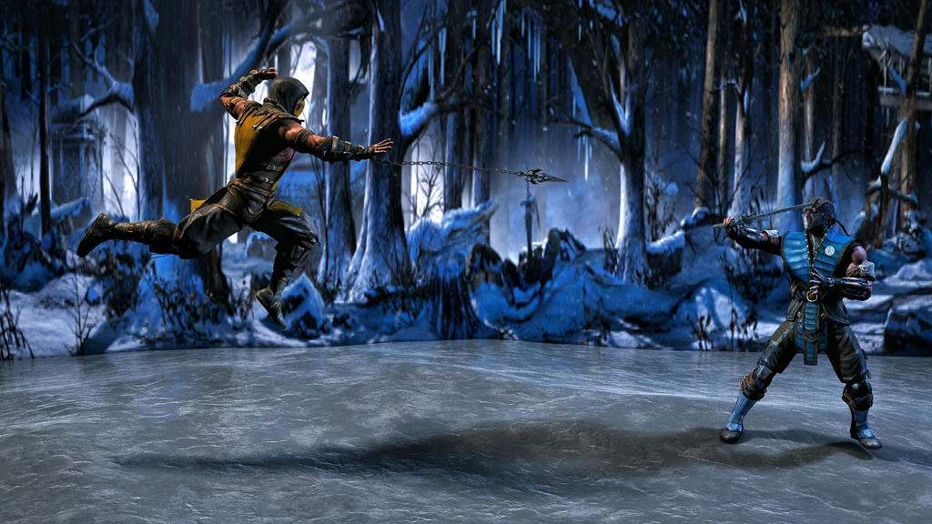 Scorpion Vs Subzero Mortal Kombat X By Joakindesigns On Deviantart