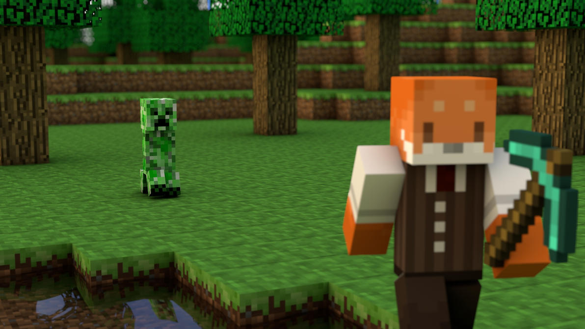 Amazing Wallpaper Minecraft Fox - minecraft_by_mangotangofox-d4k1m3h  Picture_1002953.jpg